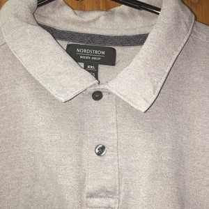 Nordstrom Men's Shop Gray Polo Shirt